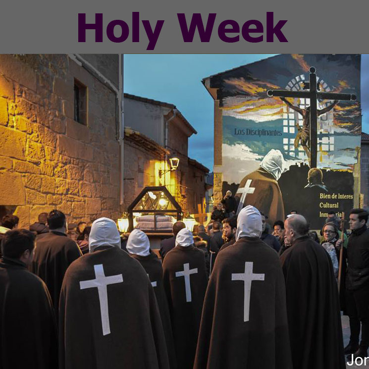 Information about the Holy Week 2019